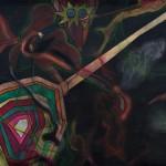 Progressive Nervousness / Progresivní nervozitaAcryllic on canvas, spray paint, 170cm x 155cm