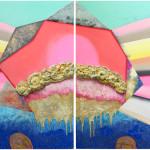 A/ I Chose You / Vybírám si tebe4 versions, 240cm x 140cm, 280cm x 120cm, acryllic on canvas, 2012  4 verze, 240cm x 140cm, 280cm x 120cm, akryl na plátně