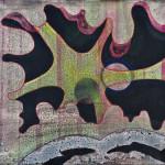 The Sun is Replaced / Slunce je teď nahrazenoAcryllic on canvas, 50cm x 45cm / Akryl na plátně, 50cm x 45cm