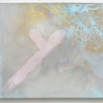 Memory Grid II 50cm x 60cm each,  acryllic on canvas Síto paměti 50cm x 60cm každý, akryl na plátně