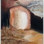 Space Dust Leftovers 1Zbytky hvězdného prachu  2 x 135cm x 130cm, acrylic and oil painting on canvas  2 x 135cm x 130cm, akryl a olej na plátně
