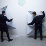 Performance with paintingPerformance s obrazem